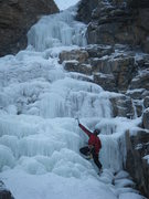 Rock Climbing Photo: Steve cruising the last pitch.