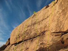 Rock Climbing Photo: The Solarium (Right Side), Joshua Tree NP   A. Wit...