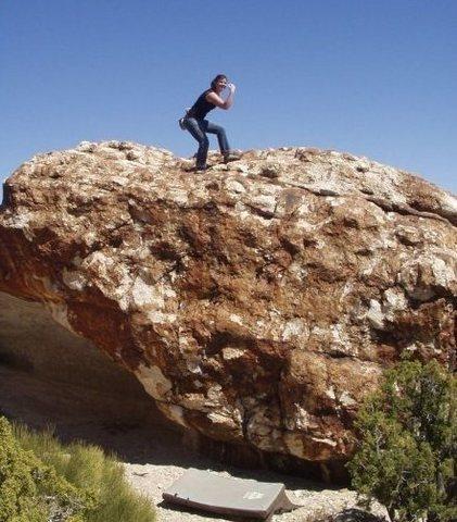 Rock Climbing Photo: Ibex