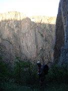 Rock Climbing Photo: Black Canyon - Colorado
