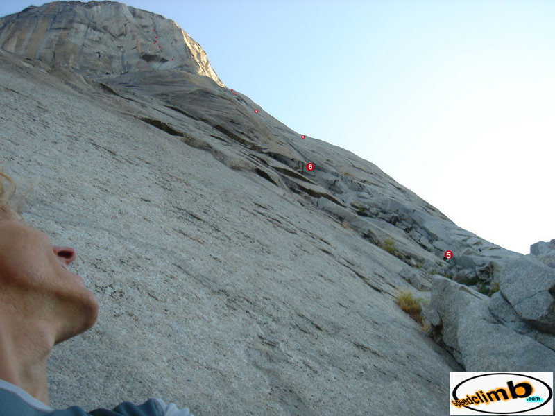 "Rock Climbing Photo: looking up The Nose, photo from my ""how to se..."