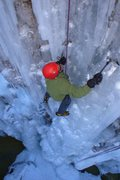 Rock Climbing Photo: Jim Hutchinson, owner operator of Ourayle house fi...