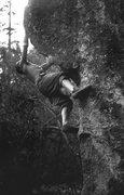 Rock Climbing Photo: Leroy. Photo by Blitzo.