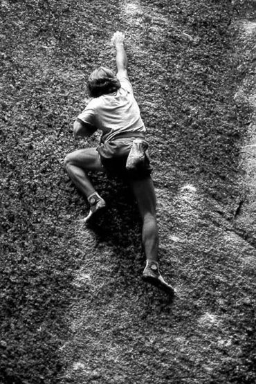 Rock Climbing Photo: Blue Suede shoes. Photo by Blitzo.