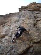 Rock Climbing Photo: fighting the pump