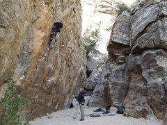 Rock Climbing Photo: jailhouse corridor