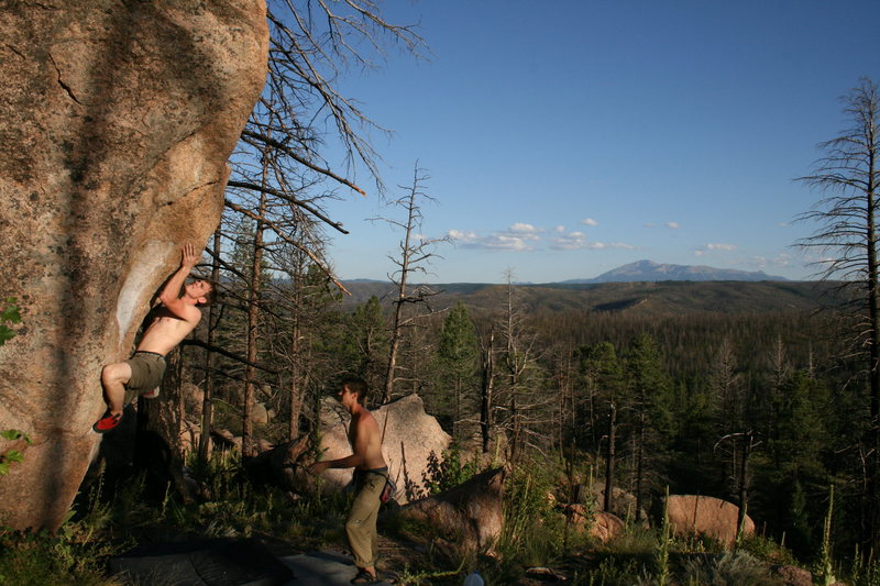 Rock Climbing Photo: Another great day in the Platte.
