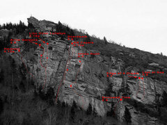 Rock Climbing Photo: This photo was taken from just North of the Linn C...