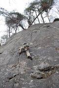 Rock Climbing Photo: Top-rope