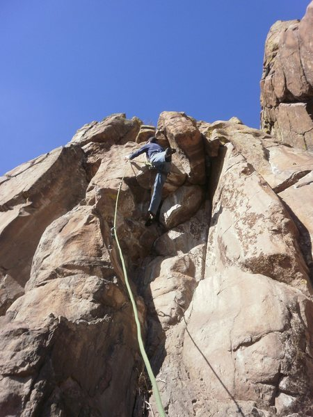 Rock Climbing Photo: 3rd clip....