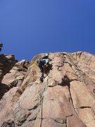 Rock Climbing Photo: 2nd bolt.