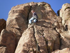 Rock Climbing Photo: Some loose rock here....
