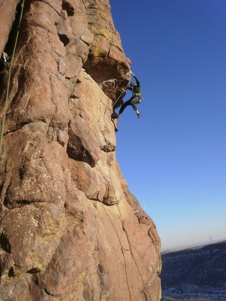 Rock Climbing Photo: Zack, I believe?  E-mail, and I'll send you some m...