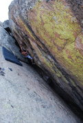 "Rock Climbing Photo: Carlos on the ""warm up"", The Finns. Fole..."