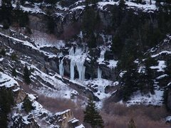"""Rock Climbing Photo: Some climbers call this area """"Little Ouray&qu..."""