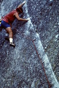 Rock Climbing Photo: nice moves down low