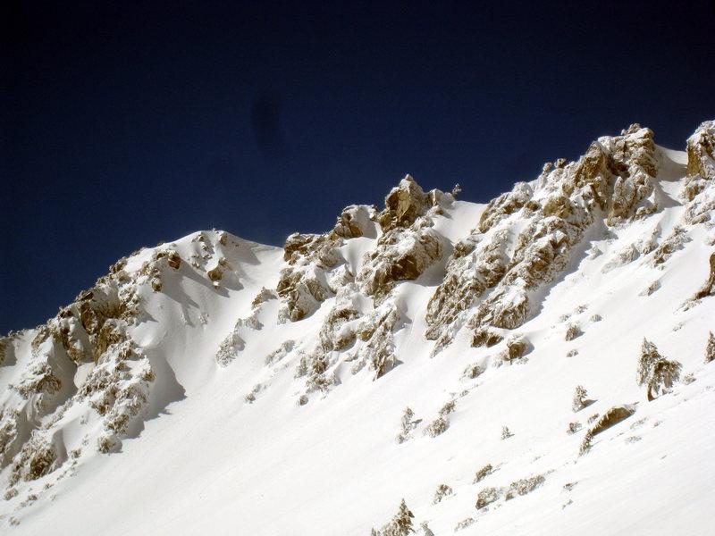 Rock Climbing Photo: The Baldy Chutes