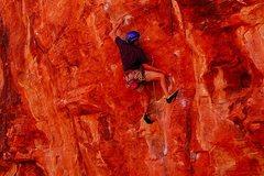 Rock Climbing Photo: getting shut down
