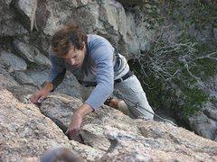 Rock Climbing Photo: stylin
