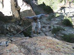 Rock Climbing Photo: lowering