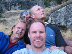 Rock Climbing Photo: Sunnyside Bench Hideout.