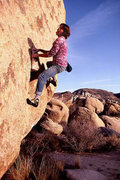 Rock Climbing Photo: Bill Price screwing around. 1980.