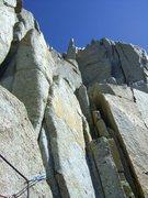Rock Climbing Photo: Beginning of last pitch