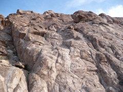 Rock Climbing Photo: Charlotte's Web at the Keyhole