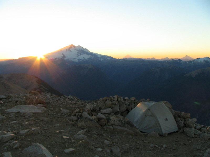 Bariloche, Argentina.<br> Mount Tronador
