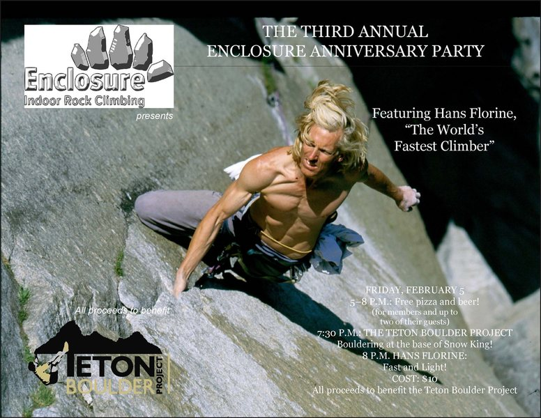 Rock Climbing Photo: Hans Show in Jackson Hole, WY - Feb 5th