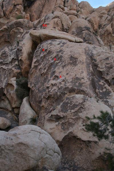 """""""Sidestep""""  5.6, SW facing, mixed climb"""