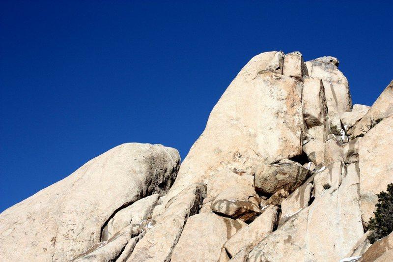 Saddle Rocks - Pommel, Joshua Tree NP