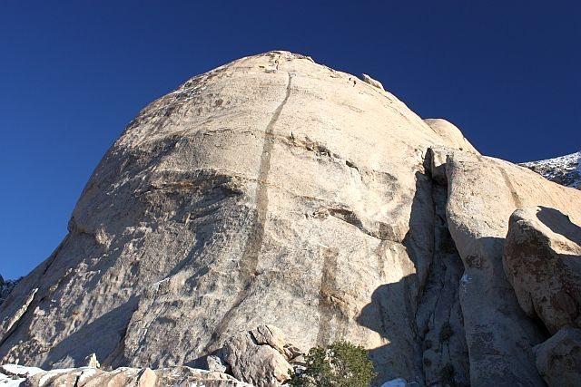 Rock Climbing Photo: Saddle Rocks - Skirt, Joshua Tree NP