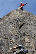 Rock Climbing Photo: Chad on belay.