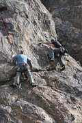 Rock Climbing Photo: Kevin Graves and Eric Odenthal