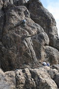 Rock Climbing Photo: Kevin  and Eric with I believe Jeff and Ken on bel...