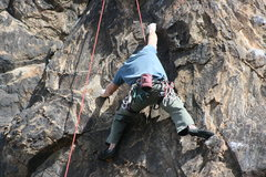 Rock Climbing Photo: Kevin back to work,