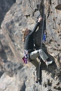 Rock Climbing Photo: Noelle Ladd on Descending Opinion