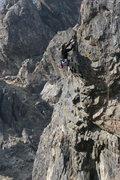 Rock Climbing Photo: Noelle Ladd on Descending Opinion