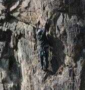 Rock Climbing Photo: Albert Ramirez on Candy O