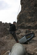 Rock Climbing Photo: Eric on belay