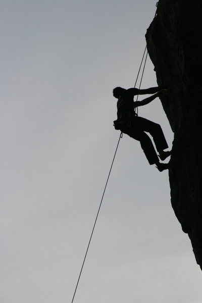 Rock Climbing Photo: Eric Odenthal Lethal Weapon .12+