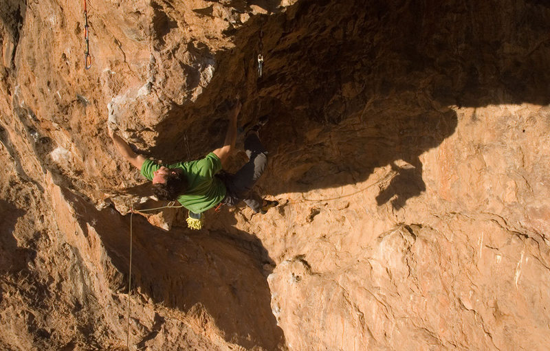 Rock Climbing Photo: MattL working throught the shared section with Ful...