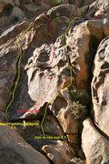 Rock Climbing Photo: High Step