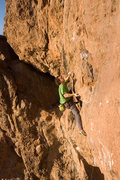 Rock Climbing Photo: Using bizzar beta and terrible holds is one of Mat...