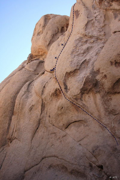 Rock Climbing Photo: Cave Dwellers (A3)
