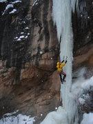 Rock Climbing Photo: Incredible chandelier ice!
