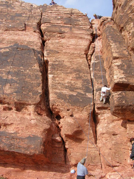 Rock Climbing Photo: Good climb for any beginner.