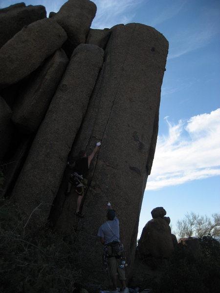 Kevin on Tasha's Tower.