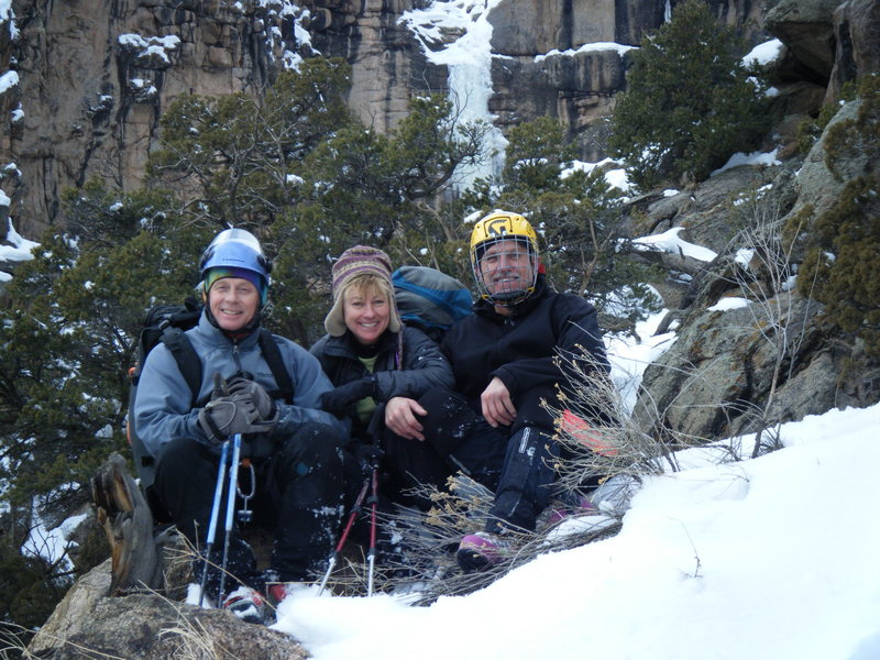 Rock Climbing Photo: The Crew. Jim Whalen, Betty Thorson, Douglas Lossn...